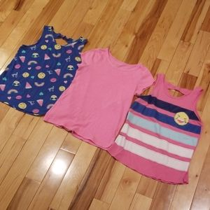 SO Girl's pink shirts lot sz 14